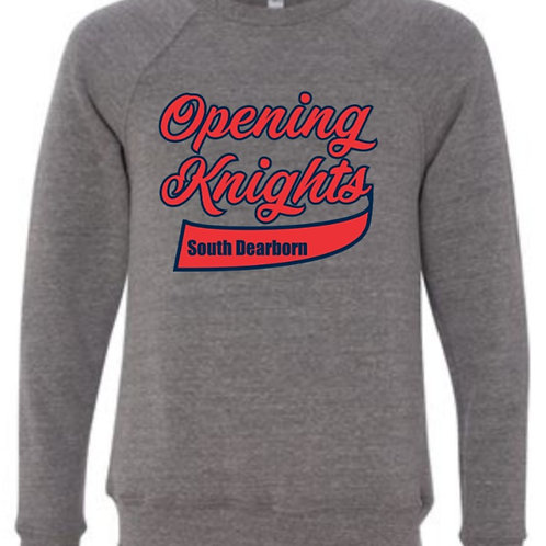 Soft Style Opening Knight Crewneck