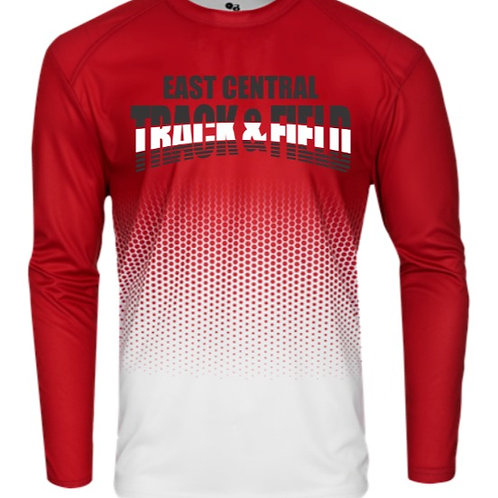 EC Track and Field HEX LONG SLEEVE TEE