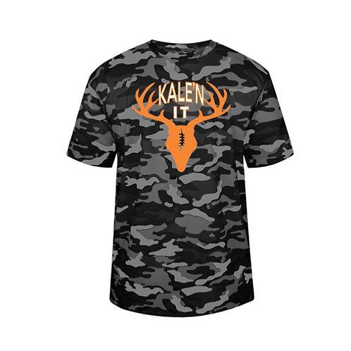 Kale'n It Camo Polyester T-shirt