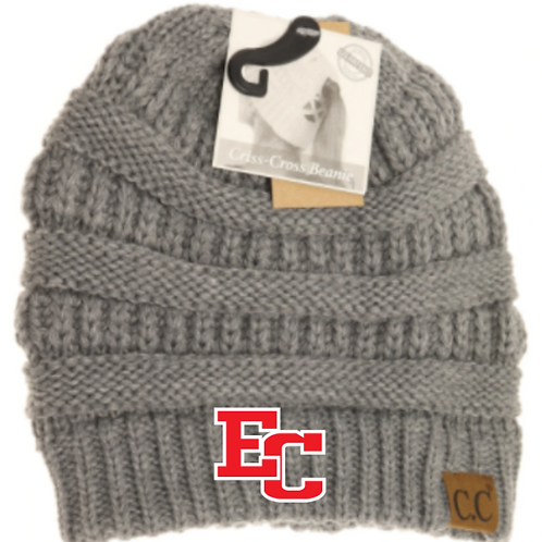 ECBB CC Criss-Cross Knit Beanie