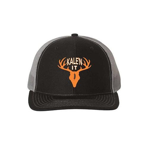 Kale'n It Richardson Snapback Hat--Black/Charcoal