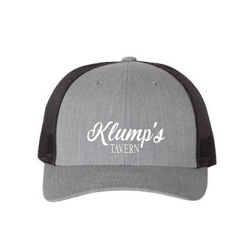 Klump's Heather Gray/Black Snapback Hat