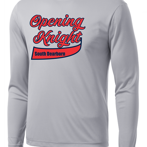 Soft Style Opening Knight Long Sleeve