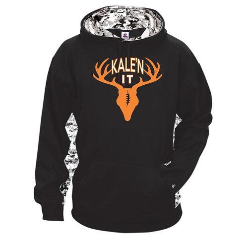 Kale'n It Camo Polyester Sweatshirt