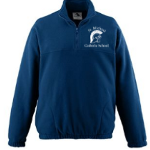 Embroidered Augusta - Chill Fleece Zip Pullover St. Michael