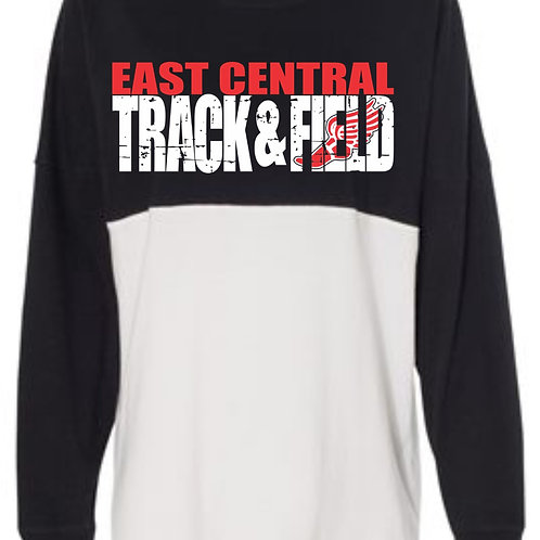 EC Track and Field Game Day Long Sleeve T-shirt