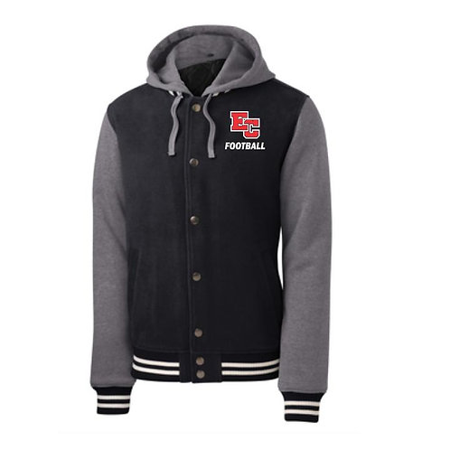 Embroidered Insulated Letterman Jacket