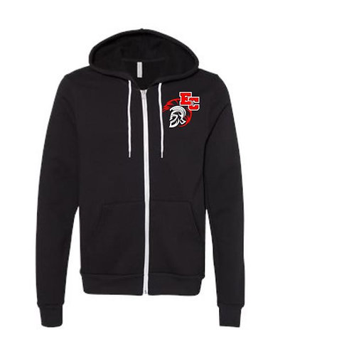 Embroidered Full Zip Hoodie