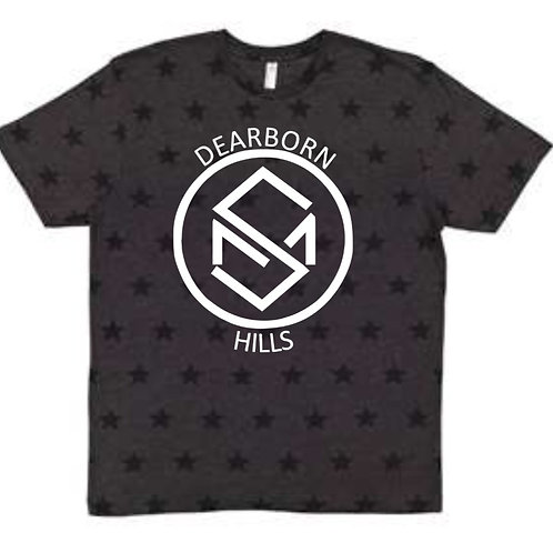 Code Five - Star Print T-Shirt