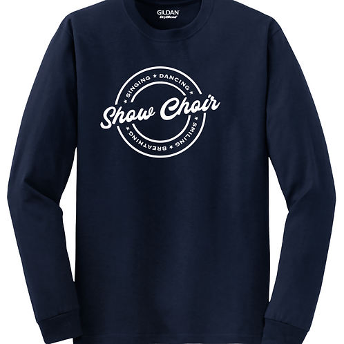 Show Choir Long Sleeve- SD Music