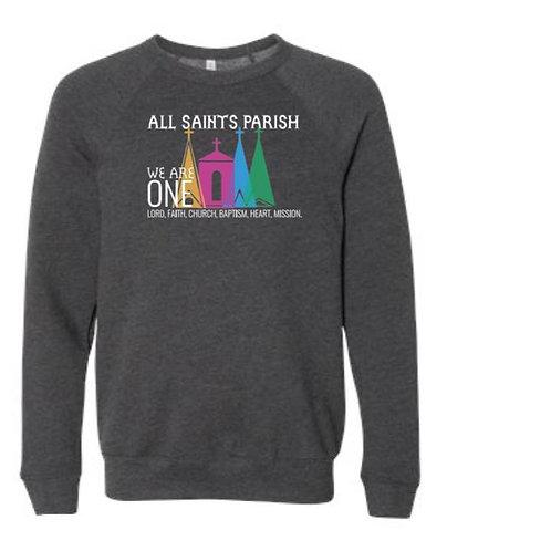 Multi-Colored All Saints Parish Crewneck Sweatshirt