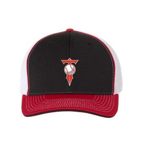 HVL Trojans Baseball Fitted Pulse Sportmesh with R-Flex Cap