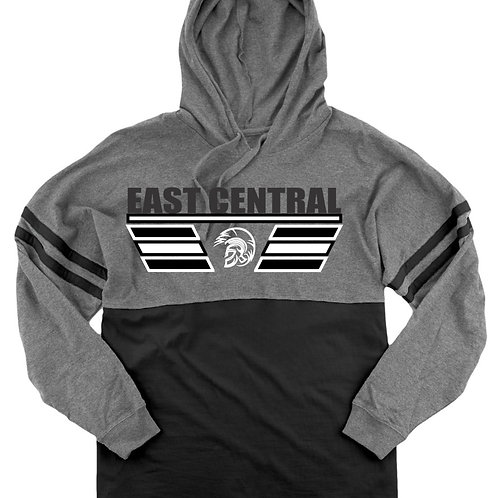 EC Track and Field Hooded Pom Pom Jersey