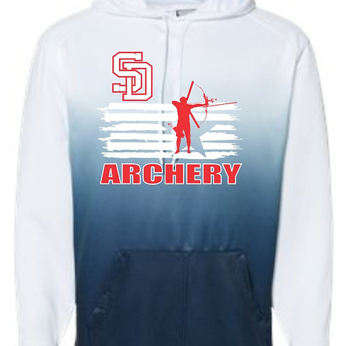SD Archery Ombre Hoodie