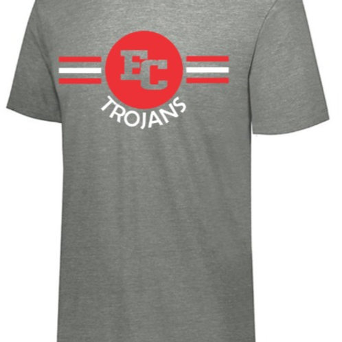EC Track and Field Soft Style T-shirt Gray