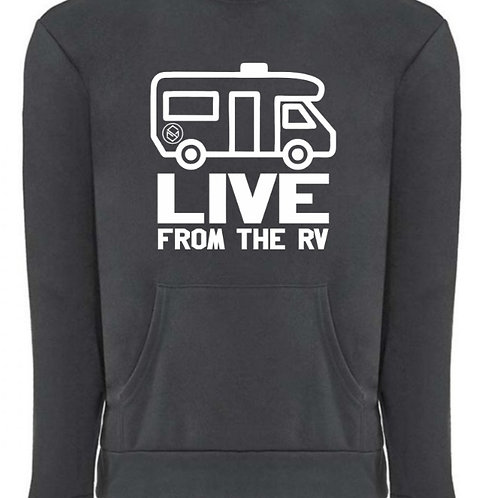 Live from the RV Crew neck with pockets