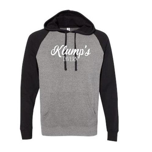 Klump's Raglan Hooded Sweatshirt