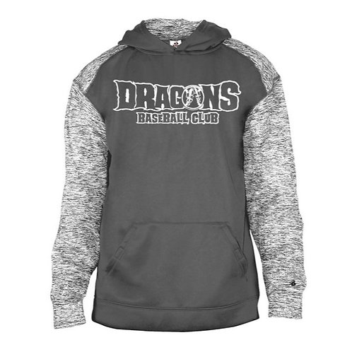 Dragons Baseball 2021 Sport Blend Polyester Hooded Sweatshirt
