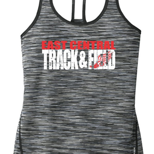 EC Track and Field Ladies Racerback Tank
