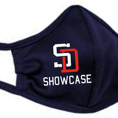 Showcase Badger - B-Core 3-Ply Mask Navy