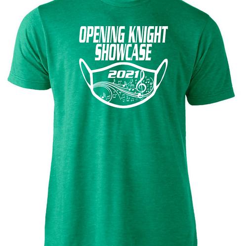 Showcase T-shirt Heather Green
