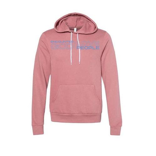 GCOTV-- Mauve Hooded Sweatshirt