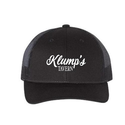 Klump's Black/Black Snapback Hat