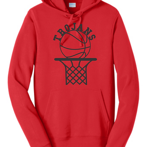 ECBB - Red Fan Favorite™ Fleece Pullover Hooded Sweatshirt
