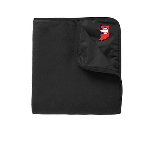 IN Ignite 2021 Embroidered Fleece & Poly Stadium Blanket