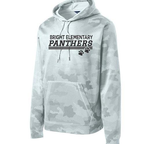 BES CamoHex Fleece Hooded Pullover