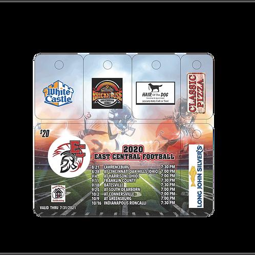 EC Trojan Football Discount Card