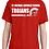 Thumbnail: 50/50 Cotton/Poly T-shirt St. Michael