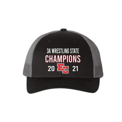 EC Wrestling Champions Snapback Hat