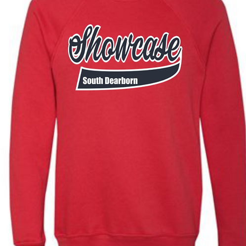 Soft Style Cotton/Poly Blend Showcase Crewneck