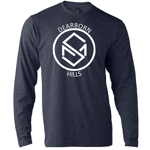 Soft Style Long Sleeve Navy Blue