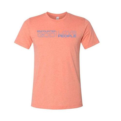 GCOTV-- Heather Sunset  T-Shirt
