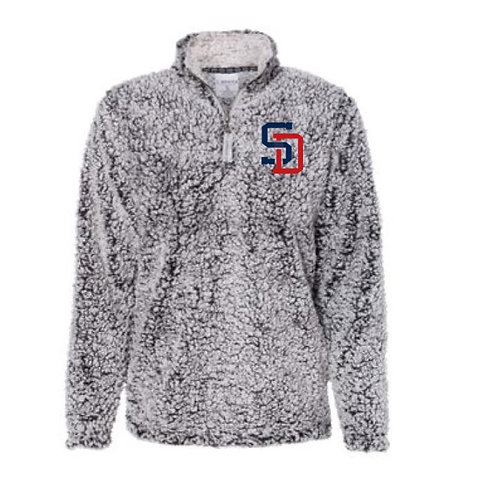 Embroidered SD Sherpa