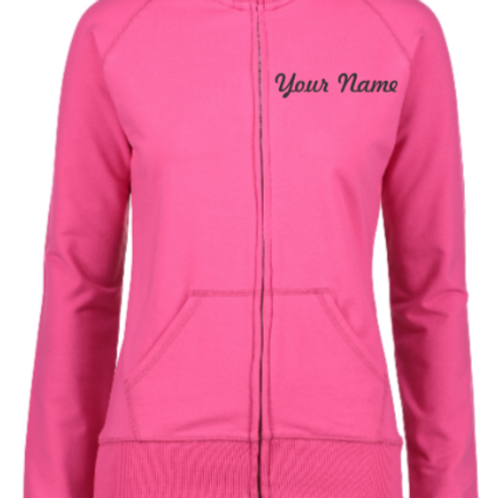 Miss Lizzy's Personalized Ladies Track Jacket