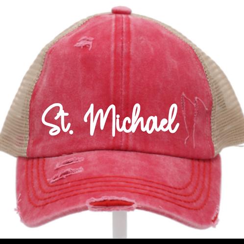CC Beanie Criss Cross Ladies Hat St. Michael