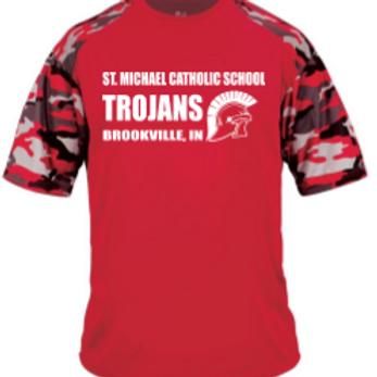 Camo Sport T-Shirt St. Michael