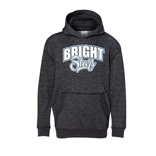 Bright Stars Youth Hooded Glitter Sweatshirt