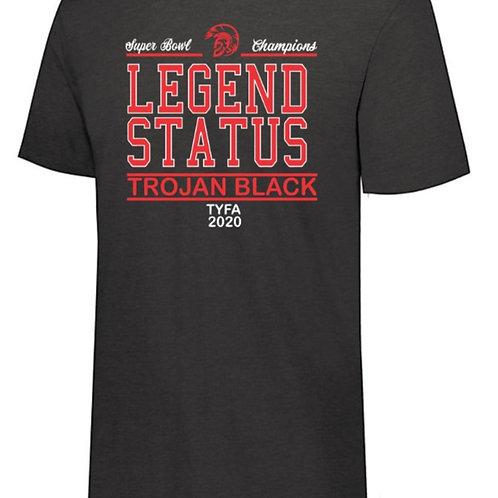 Trojan Black Soft Style T-Shirt