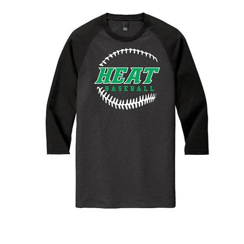 Heat Baseball 3/4 Sleeve Raglan