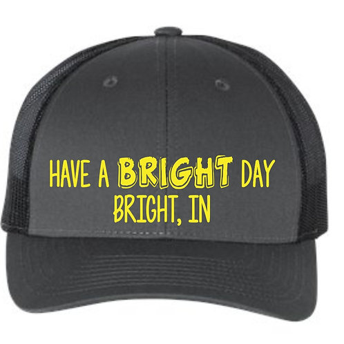 Richardson - Low Pro Trucker Cap- Have a Bright Day