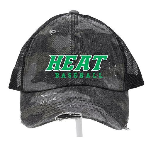 Heat Baseball Criss Cross Hat