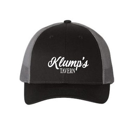 Klump's Black/Gray Snapback Hat