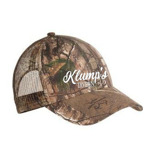 Klump's Adjustable Camo Hat