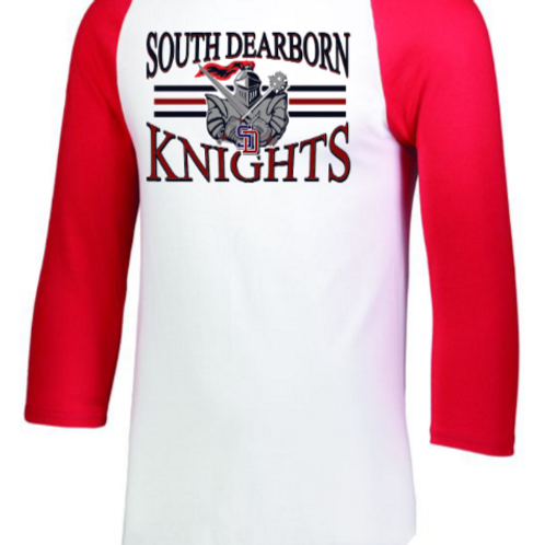 Raglan Sleeve Red- Knights