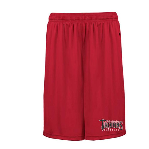 HVL Trojan Baseball Pocketed Shorts