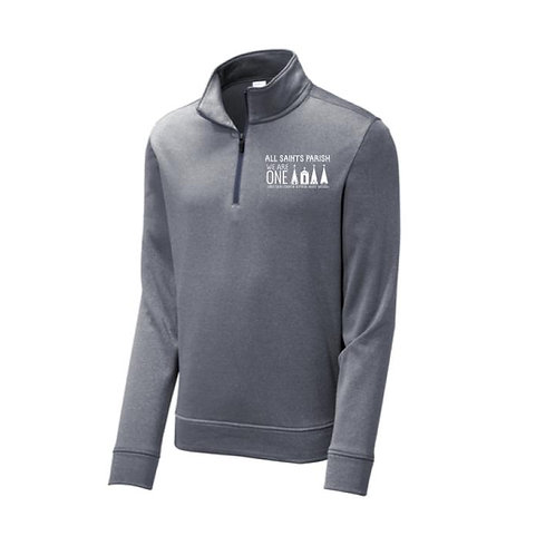 Embroidered 100% Polyester 1/4 Zip